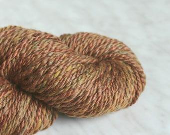 Bulky wool handspun yarn CALL OF EARTH  8.4 oz 115yards 21 mc / 230 g 100m