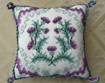 CSI 801 Thistle Cross Stitch Pin Cushion Kit