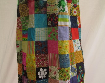 Personality Patchwork Skirt- Made to order