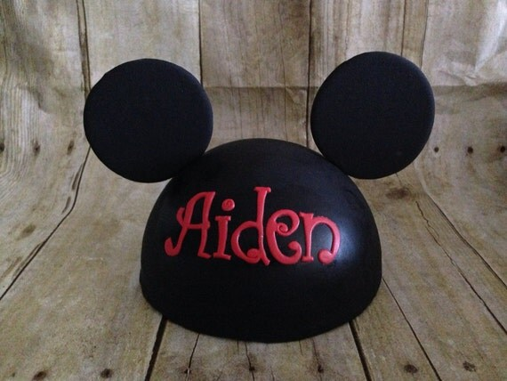 mickey ears wedding cake topper fondant mickey mouse inspired cake topper 17351