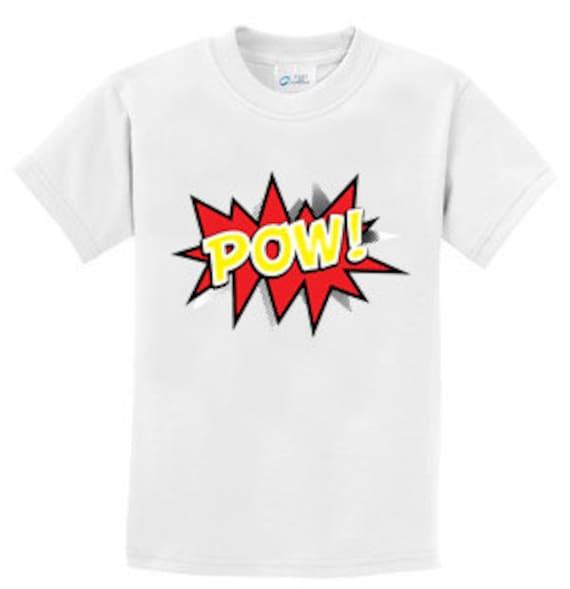 Pow Cartoon Voice Box  T-Shirt for the whole family