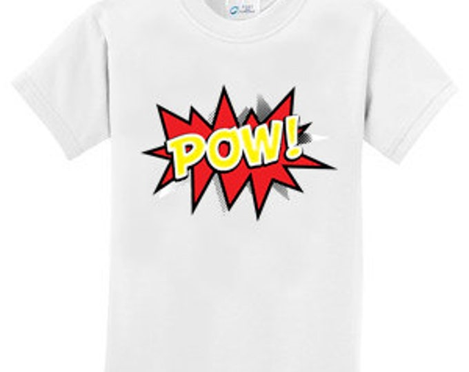 Pow Cartoon Voice Box  T-Shirt for the whole family