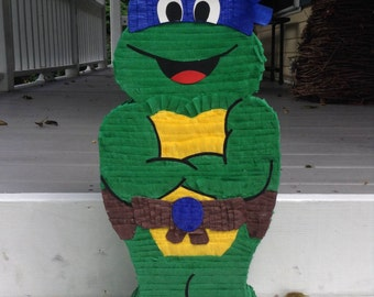 how to make a ninja turtle pinata