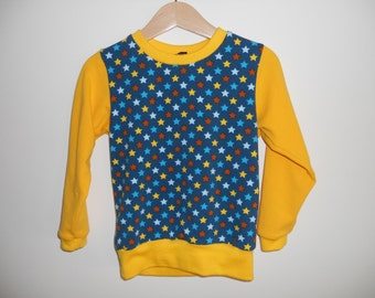 summer sweater with stars