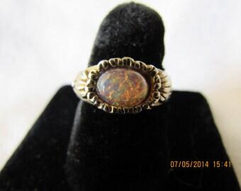 Vintage Berebi Opalescent Ring