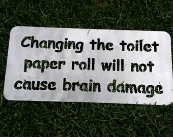 Items Similar To Country Bathroom Decor Toilet Paper Roll