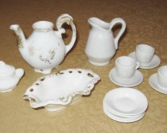 Children's Toy Porcelain Dishes, Circa 1910