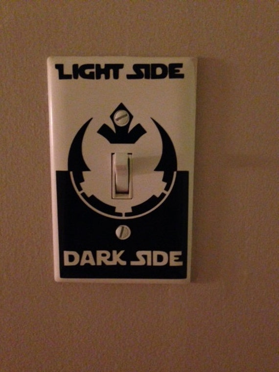 star wars decals star wars light switch decal imperial empire. Black Bedroom Furniture Sets. Home Design Ideas