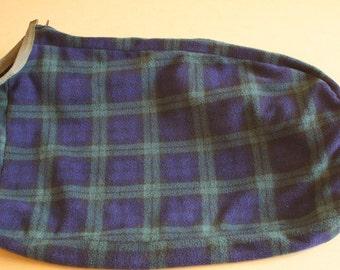 Fleece Dog Dry Bag - Blackwatch Tartan
