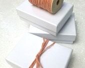Box and Twine Set - 50 boxes choose your own colors