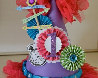 Alice in Wonderland party hat