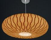 Unique Umbrella Hanging Pendant Lamp,made of real maple veneer,Eco-friendly, design lamp, dining rood, bedroom, wood veneer lamp