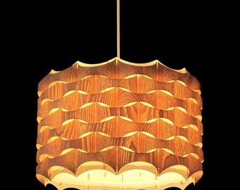 Wood pendant lamp/lampshade, it is a beautiful decorative lighting for interior, design lamp, fixtures