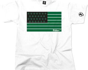 United States Of Chronic Cannabis Tshirt (White) From Dibbs