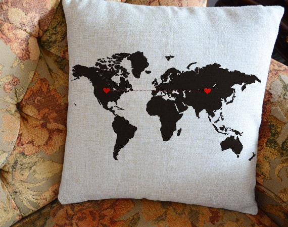 Pillow Covers As a Gift For Long Distance Relationship