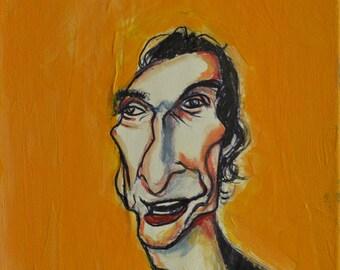 Matthew painting acrylic canvas