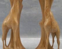 A Giraffe Candle Holder