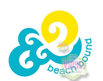 Beach decal, Beach sticker, Beach life, Beach car decal, Summer decal, Beach bound, Vinyl beach decal, Ocean decal, Multiple sizes