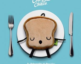 Mr. Little Bread Slice Mini Plush.