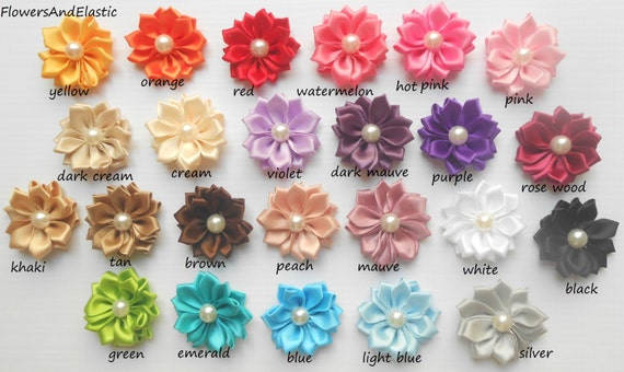 Set of 6, Small flowers Baby Headband,24 color to choose Newborn Headband,  Infant Headband,Baby Headband, Headband Baby,Baby Headband