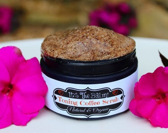 Toning Coffee Scrub