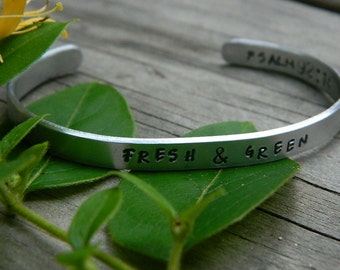 Fresh and Green - Psalm 92