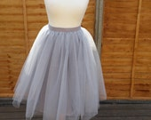 THE SWAN LADY Tulle Skirt/ Tutu Skirt