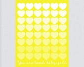 Yellow Printable Guest Bo...