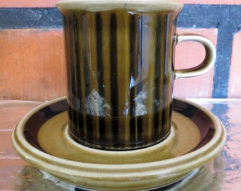 ARABIA OF FINLAND Vintage, Kosmos Coffee cup and saucer