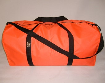 extra Large duffle bag , nylon travel bag ,gear bag light weight made in USA