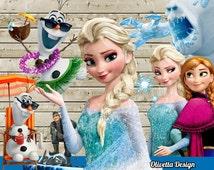 Disney Frozen 70 Character PNG Images 300 dpi Clipart  - Scrapbooking, Invitations,INSTANT DOWNLOAD printable