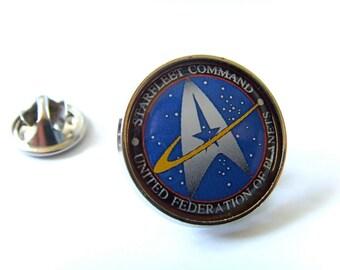 Star Trek Starfleet Command Lapel Pin Badge