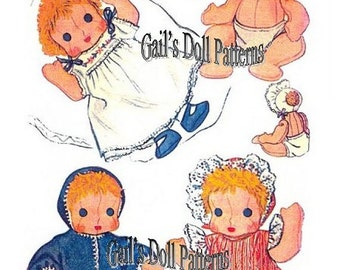 "11"" Ninette the Chubby Cheek Baby Doll Pattern"