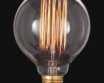Vintage Style Round Light Bulb 60watts