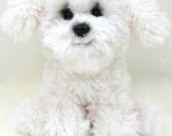 Kityu Gifts Plush Maltese Puppy
