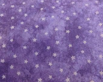 VIP Fabrics Purple Starry Night  Fabric 304