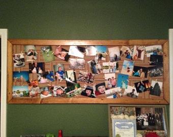 Handmade jute webbing picture frames