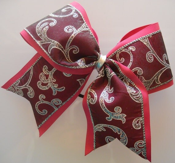 3inch Cheer Bow Cheerleading Ribbon Softball Bows by