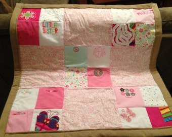 First Year Memory Quilt * Custom Baby Quilt * Baby Clothes Quilt * Baby Quilt