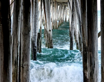Glossy Print: Avalon Pier in Kill Devil Hills, NC