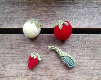 Knitted Little Fruit Set