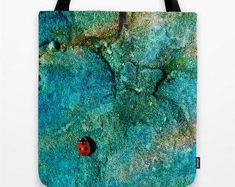 Ladybug Tote Bag, Ladybug, Travel Bag, Colorful Art, Original Photography, Unique Bag, Stylish Accessory, Animal, Cute Animal, Bag