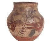 202. Antique Native American Zia Pot