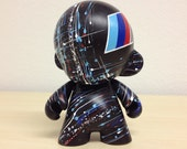 4in Motorsport Munny hand painted by emKel - MADE TO ORDER