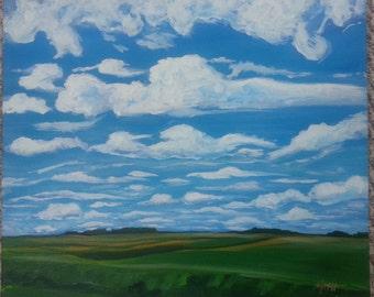 Abundant Prairie Skies