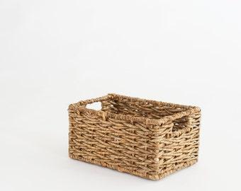 Newborn Prop Vintage Wicker Basket