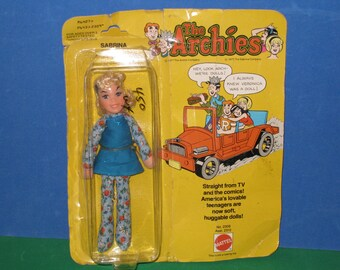 1977 Mattel The Archies Comics SABRINA Doll NRFP