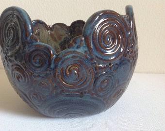 Decorative Unique Coil Pot