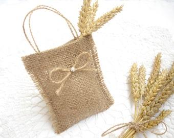 Set of 50 Wedding favor bags - Wedding gift bags - Gift bags - Christmas favor bag - Wedding favors – Burlap favor bags