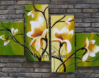 oil painting,blossom painting,modern canvs painting for home decor,framed,ready to hang,huge 140x70cm-NE216